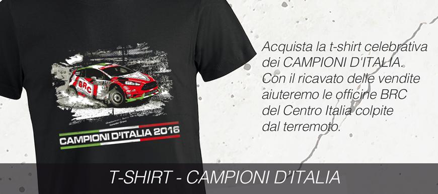 T-shirt pro terremotati BRC Promotion